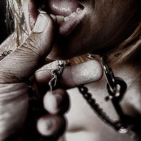 BDSM, Sub, Submissive on lead.