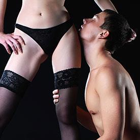 dominatrix, sexual submission.