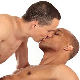 sexy men kissing